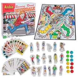 Picture of Archie Running Round Riverdale Board Game