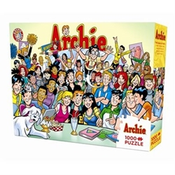 Picture of Archie Gang at Pop's 1000 Piece Puzzle