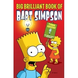 Picture of Simpsons Big Brilliant Book of Bart Simpson