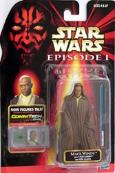 Picture of Star Wars Episode I Commtech Chip Mace Windu Action Figure