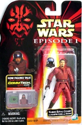 Picture of Star Wars Naboo Royal Guard Episode I Commtech Chip Action Figure