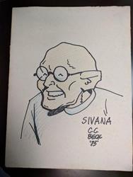 Picture of C.C. Beck Sivana Original Art