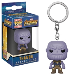 Picture of Avengers Infinity War Thanos Pop Vinyl Figure Keychain