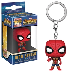 Picture of Avengers Infinity War Iron Spider Pop Vinyl Figure Keychain