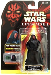 Picture of Star Wars Episode I Commtech Chip Darth Maul (Tatooine) Action Figure