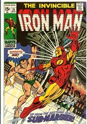 Picture of Iron Man #25