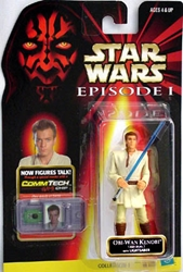 Picture of Star Wars Episode I Commtech Chip Obi-Wan Kenobi (Jedi Duel) Action Figure