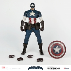 Picture of Captain America Sixth Scale ThreeA Figure