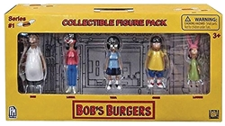 Picture of Bobs Burgers Collectible 5pk Figure Set