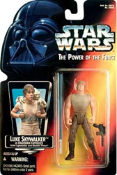 Picture of Star Wars Luke Skywalker Dagobah Fatigues Power of the Force Action Figure