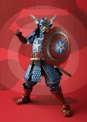 Picture of Samurai Captain America Bandai Figure