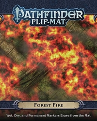 Picture of Pathfinder Role Playing Game Forest Fire Flip-Mat
