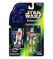 Picture of Star Wars Power of the Force Sandtrooper Action Figure