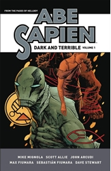 Picture of Abe Sapien Dark & Terrible HC VOL 01