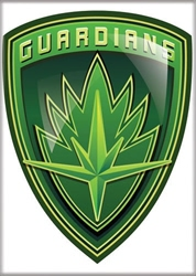 Picture of Guardians of the Galaxy Badge Magnet