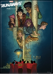 Picture of Runaways Comic Poster Magnet