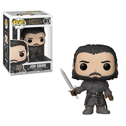 Picture of Game of Thrones Jon Snow Beyond the Wall Pop! Vinyl Figure