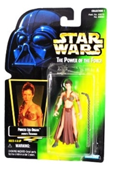 Picture of Star Wars Princess Leia Organa (Jabba's Prisoner) Power of the Force Action Figure
