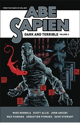 Picture of Abe Sapien Dark & Terrible HC VOL 02