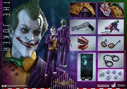 Picture of The Joker Video Game Masterpiece Series Hot Toys Sixth Scale Figure