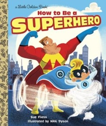 Picture of How to Be a Superhero Little Golden Book