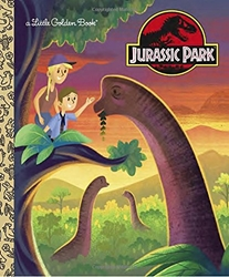 Picture of Jurassic Park Little Golden Book