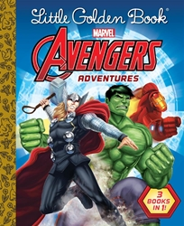 Picture of Avengers Adventures Little Golden Book