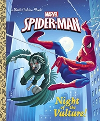 Picture of Spider-Man Night of the Vulture Little Golden Book