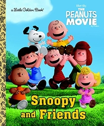 Picture of Peanuts Snoopy and Friends Little Golden Book