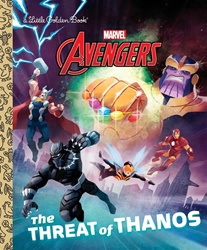 Picture of Avengers Threat of Thanos Little Golden Book