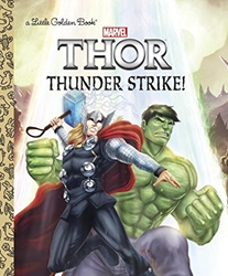Picture of Thor Thunder Strike! Little Golden Book