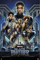 Picture of Black Panther Movie Poster