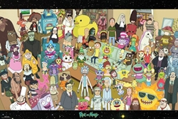 Picture of Rick & Morty Cast Poster