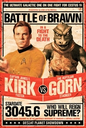Picture of Star Trek Kirk vs Gorn Poster