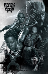 Picture of Black Panther Nakia Okoye Shuri Poster