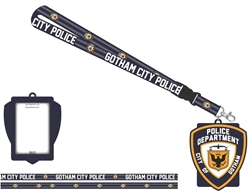 Picture of Batman Gotham City Police Lanyard with Charm