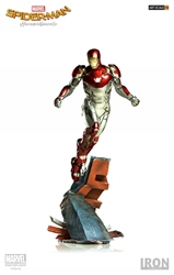 Picture of Iron Man Mk XLVII Spider-Man Homecoming Battle Diorama Iron Studios Statue