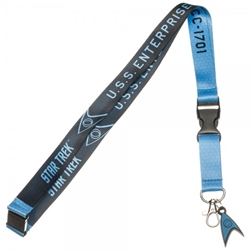 Picture of Star Trek Blue Member Lanyard