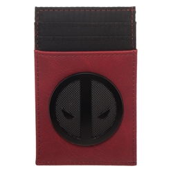 Picture of Deadpool Black Badge Front Pocket Card Wallet