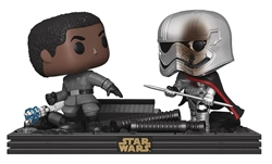 Picture of Pop Star Wars The Last Jedi Dual Movie Moments Vinyl Figure Set