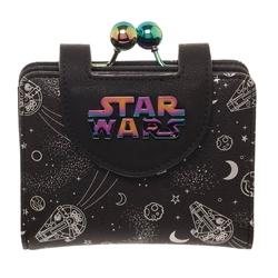 Picture of Star Wars Han Solo Millennium Falcon Iridescent Kisslock Wallet