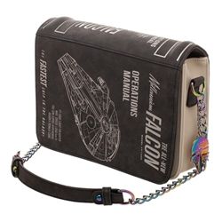 Picture of Star Wars Millennium Falcon Operations Manual Crossbody Purse