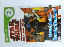 Picture of Star Wars The Clone Wars Stand Aside-Bounty Hunters DK Readers Beginning to Read Alone (2)