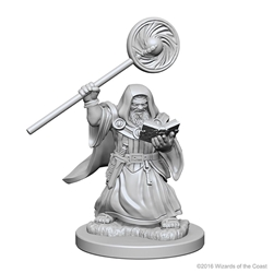 Picture of Dungeons and Dragons Nolzur's Marvellous Unpainted Dwarf Male Wizard Miniatures