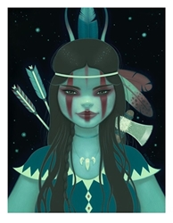 Picture of Tara McPherson Dream Hunter Giclee Print