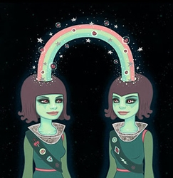 Picture of Tara McPherson Indestructible Energy of Synchronicity Print
