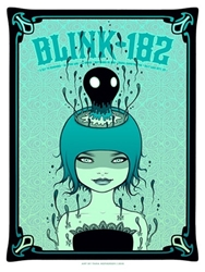 Picture of Tara McPherson Blink 182 Print