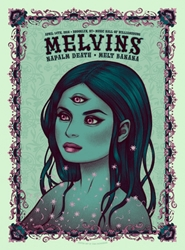 Picture of Tara McPherson Melvins Napalm Death Print