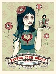 Picture of Tara McPherson Father John Misty Print