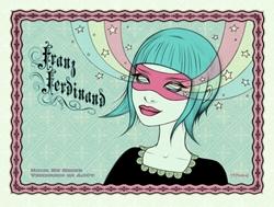 Picture of Tara McPherson Franz Ferdinand Print